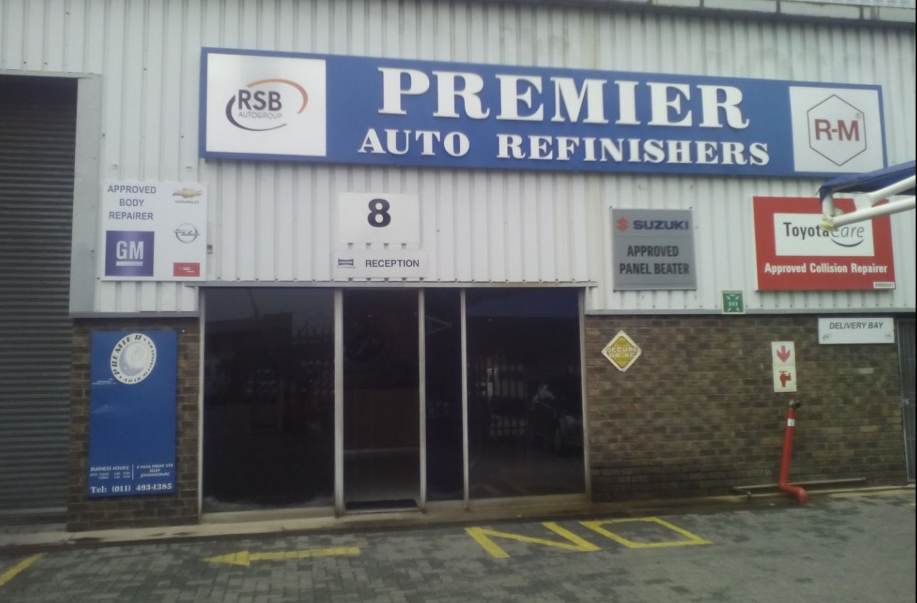 Premier Auto Refinishers - Closed down